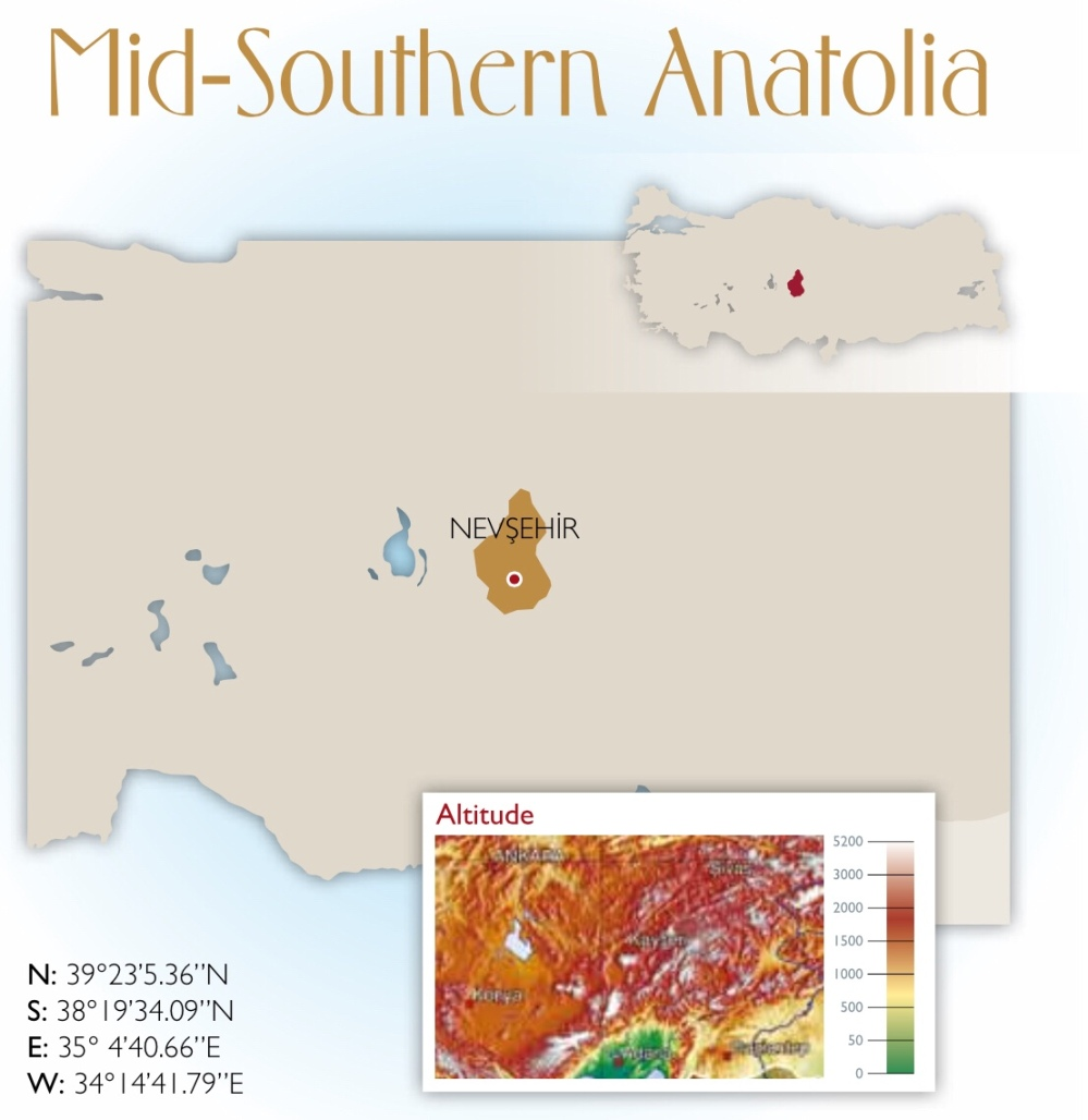 Mid-Southern Anatolia