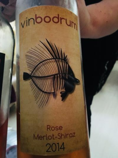 Vinbodrum rosé Merlot - Shiraz 2014