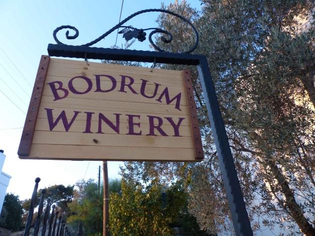 Vinbodrum's entrance